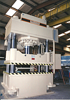 Model AP Four Column Press (AP500-60-48 & AP500-76-60)