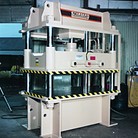 Model AP300 Four Column Press (300 ton capacity)